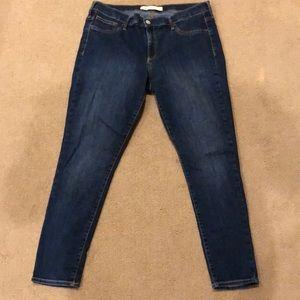 Gap 33R skinny stretchy jeans